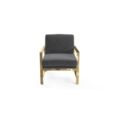 Lisette Armchair Cosmic Anthracite by Brosa, a Chairs for sale on Style Sourcebook