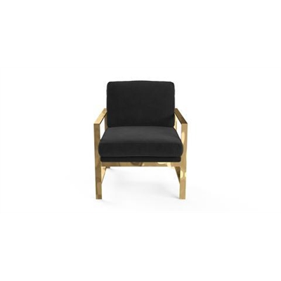 Lisette Armchair Ebony Black