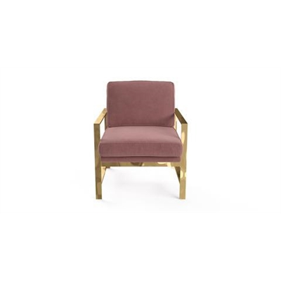 Lisette Armchair Blush Pink by Brosa, a Chairs for sale on Style Sourcebook