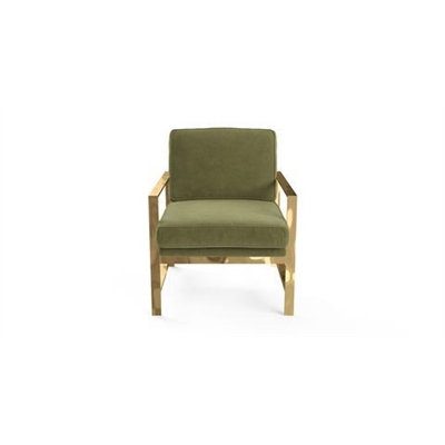 Lisette Armchair Olive Green by Brosa, a Chairs for sale on Style Sourcebook