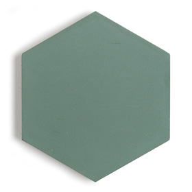 New Paradise Leaf H30 Hexagon by New Paradise by Jason Grant, a Encaustic Tiles for sale on Style Sourcebook