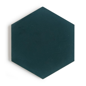New Paradise Deep Sea H95 Hexagon by New Paradise by Jason Grant, a Encaustic Tiles for sale on Style Sourcebook