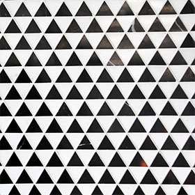 DL60251 Triangle Marble by Di Lorenzo Tiles, a Mosaic Tiles for sale on Style Sourcebook