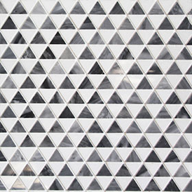 DL60245 Triangle Marble by Di Lorenzo Tiles, a Mosaic Tiles for sale on Style Sourcebook