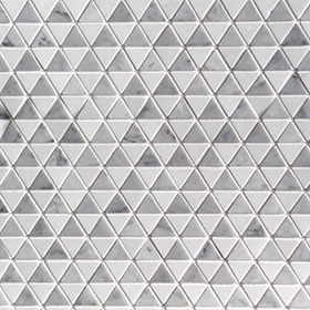 DL60250 Triangle Marble by Di Lorenzo Tiles, a Mosaic Tiles for sale on Style Sourcebook