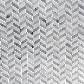 DL60235 Chevron Marble by Di Lorenzo Tiles, a Mosaic Tiles for sale on Style Sourcebook