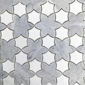 Peony by Di Lorenzo Tiles, a Mosaic Tiles for sale on Style Sourcebook