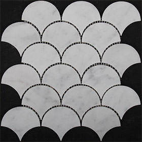 DL10138 Fan by Di Lorenzo Tiles, a Mosaic Tiles for sale on Style Sourcebook