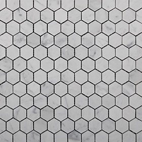 DL10134 mini hex by Di Lorenzo Tiles, a Mosaic Tiles for sale on Style Sourcebook