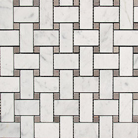 DL10508 Basketweave by Di Lorenzo Tiles, a Mosaic Tiles for sale on Style Sourcebook