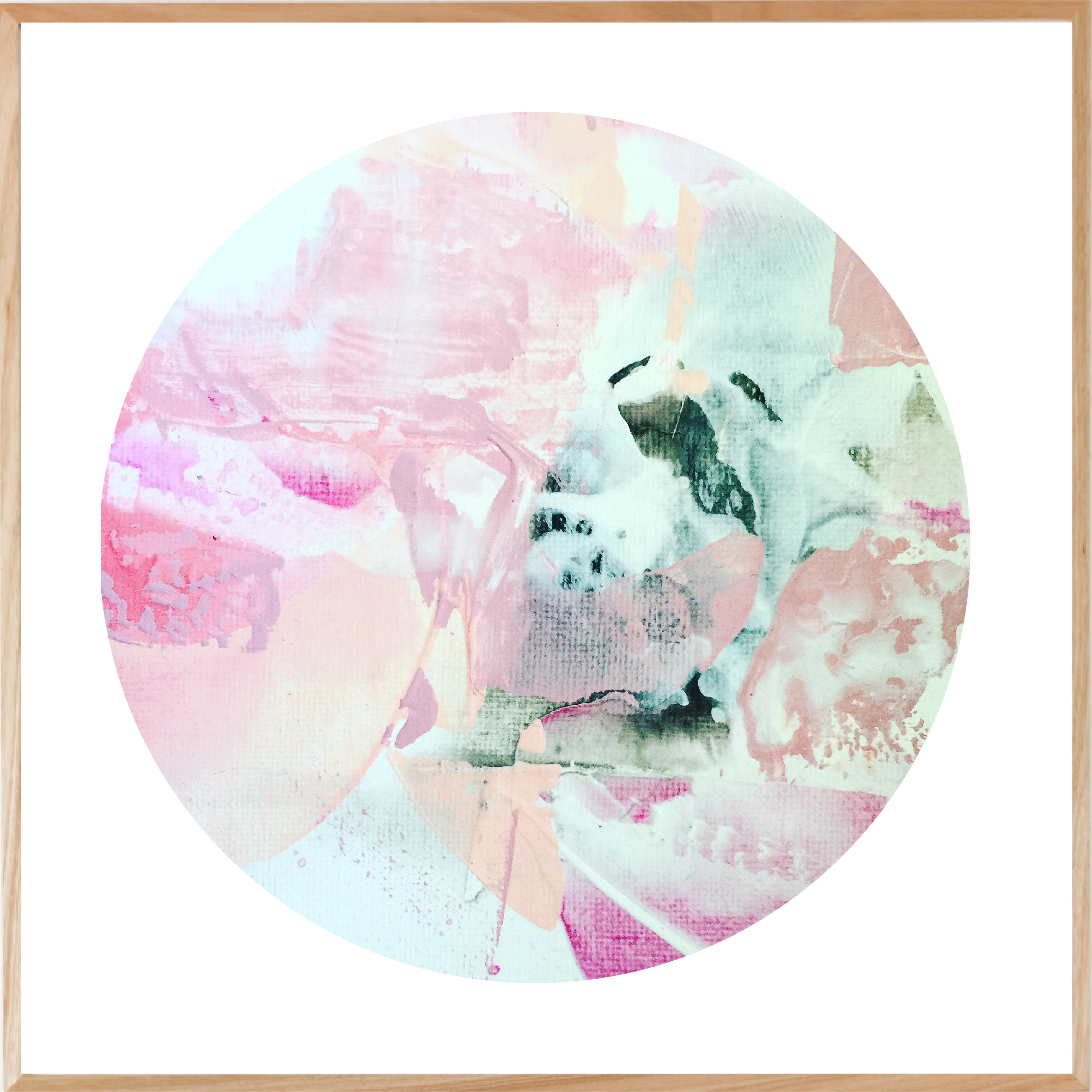 Softly Softly Print Square by Maggi McDonald Art & Design, a Prints for sale on Style Sourcebook