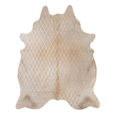 Arlequin Cow Hide Rug, Caramel/Gold by Amigos De Hoy, a Hide Rugs for sale on Style Sourcebook