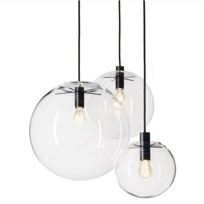 Doris Hand Blown Glass Globe Pendant Light - Medium by Laputa Lighting, a Pendant Lighting for sale on Style Sourcebook