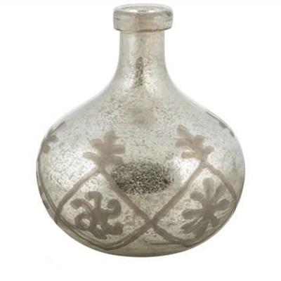 Vincentia Cutting Design Bubble Glass Flower Vase