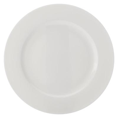 Pearlesque Rim Side Plate Bone China White Casa Domani