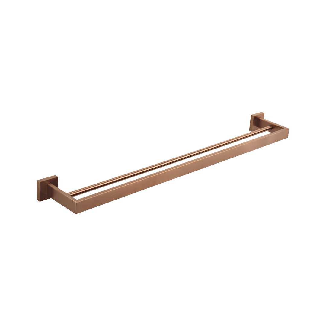 Double Towel Rail  Copper  560mm by Just in Place, a Bath Accessory Sets for sale on Style Sourcebook