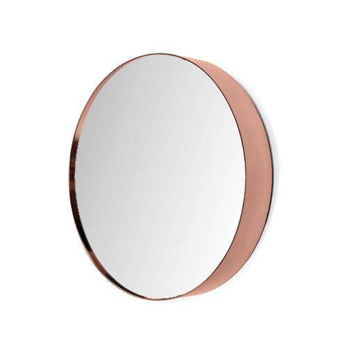 Double Trim LED Mirror Deep Rose Gold by Just in Place, a Mirrors for sale on Style Sourcebook