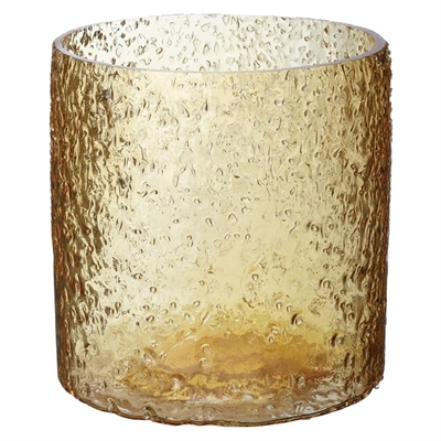 Rock Salt Hurricane Candle Holder by LS Collections, a Candle Holders for sale on Style Sourcebook
