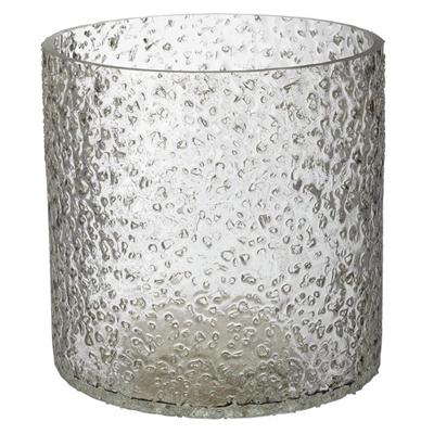 Rock Salt Hurricane Candle Holder Glass Assorted Whiskey Boyd Design