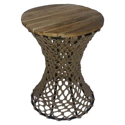 Fishnet Side Table by LS Collections, a Side Table for sale on Style Sourcebook
