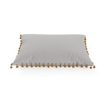 Pallo Rectangular Cushion 60 x 40cm Cloud Grey by Brosa, a Cushions, Decorative Pillows for sale on Style Sourcebook