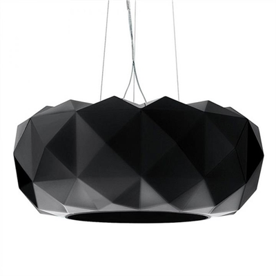 Daia Deluxe  Metal & Glass Pendant Light, Large, Black by Laputa Lighting, a Pendant Lighting for sale on Style Sourcebook