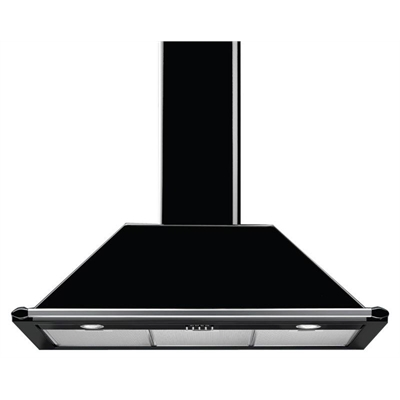 Smeg 90cm Wallmount Rangehood - KT90BLA by Smeg, a Rangehoods for sale on Style Sourcebook