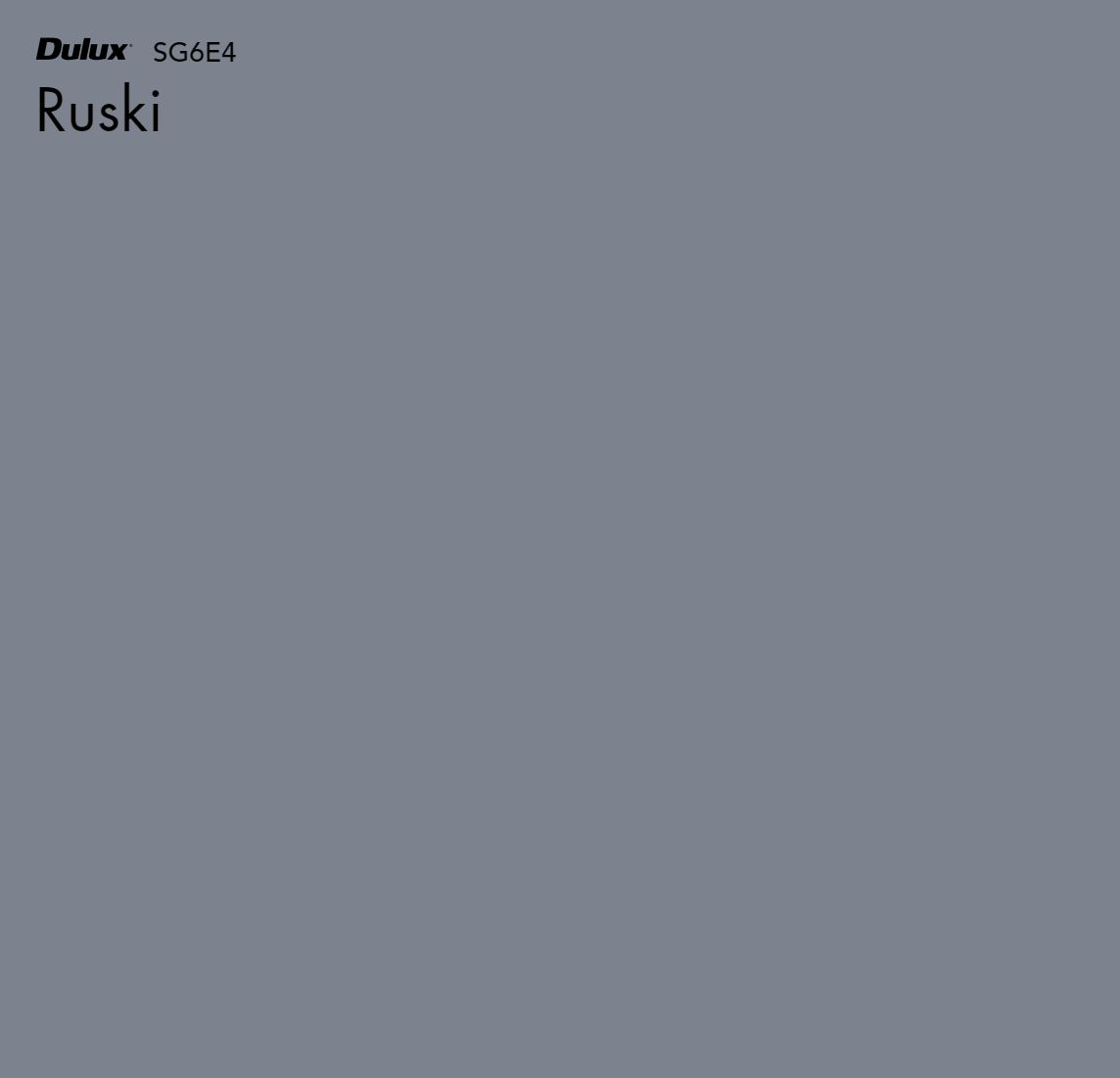 Ruski by Dulux, a Blues for sale on Style Sourcebook