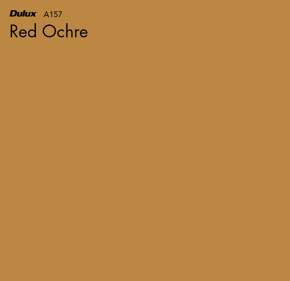 Red Ochre by Dulux, a Yellows for sale on Style Sourcebook