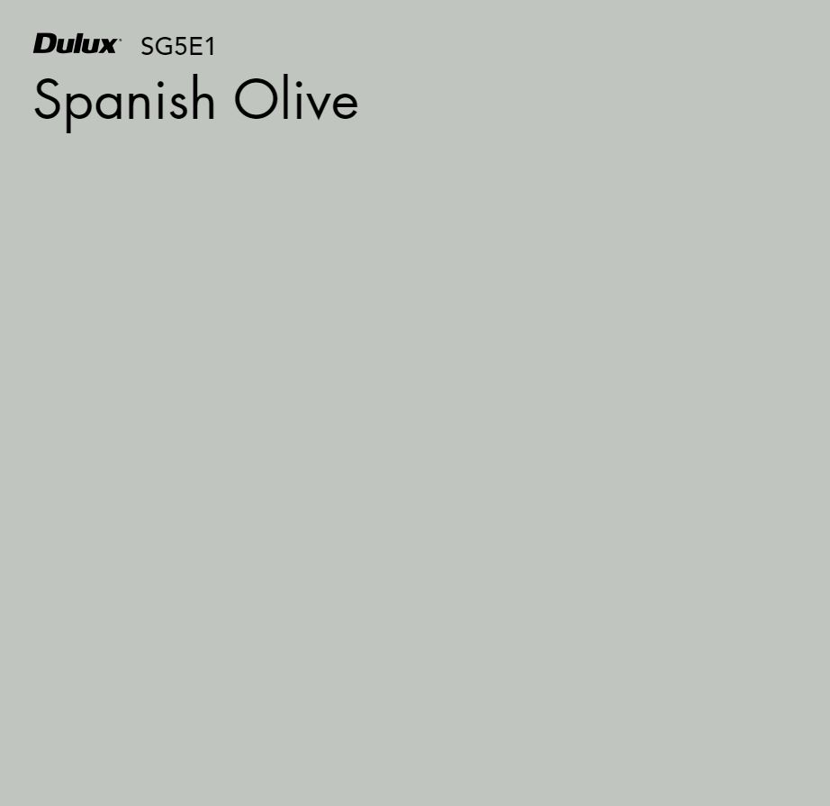 Spanish Olive by Dulux, a Blues for sale on Style Sourcebook