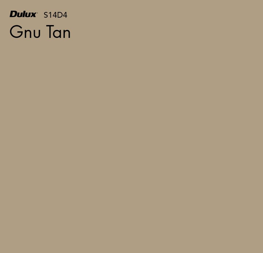 Gnu Tan by Dulux, a Browns for sale on Style Sourcebook