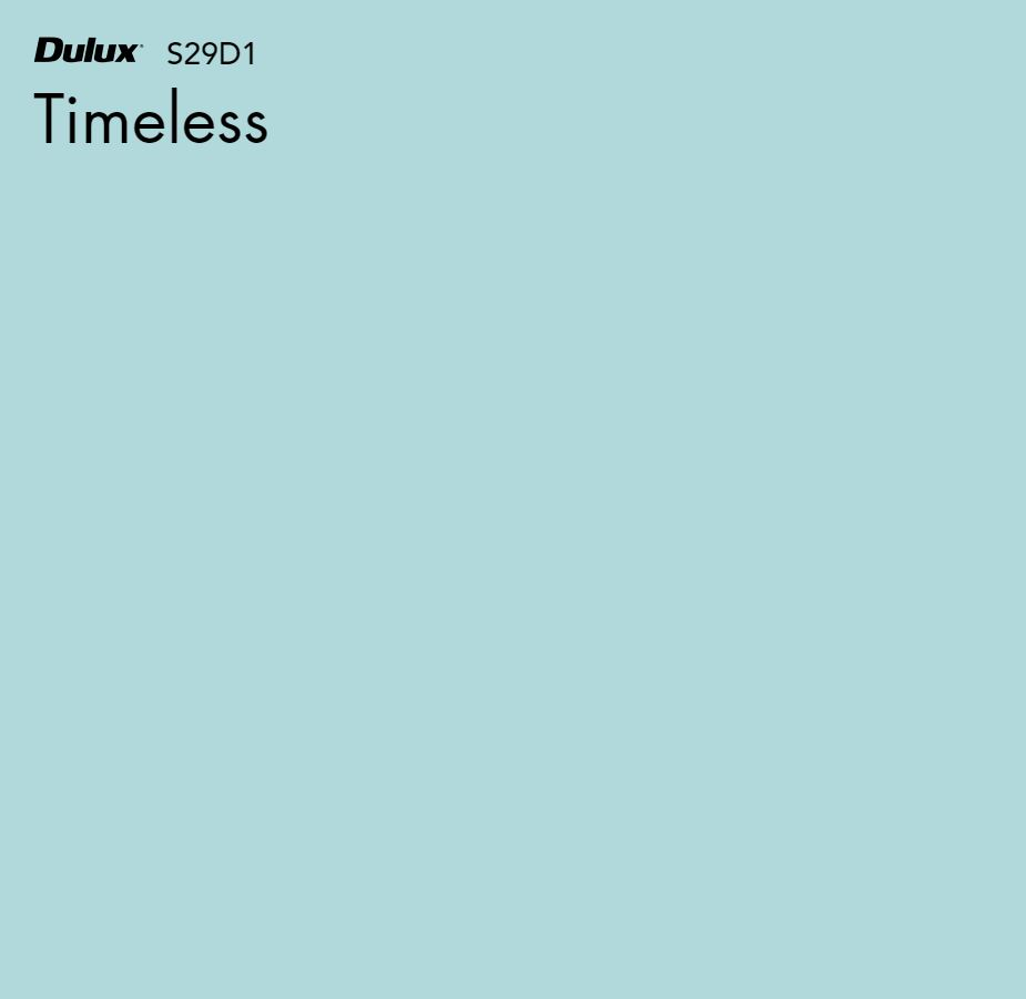 Timeless by Dulux, a Blues for sale on Style Sourcebook