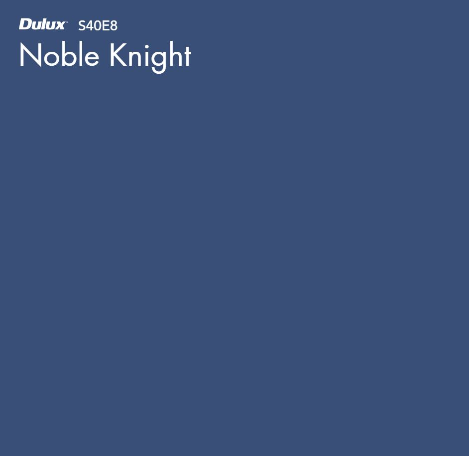Noble Knight by Dulux, a Blues for sale on Style Sourcebook