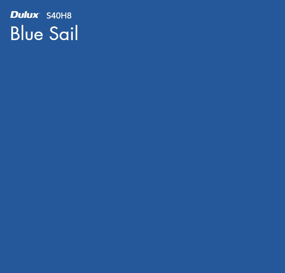 Blue Sail by Dulux, a Blues for sale on Style Sourcebook