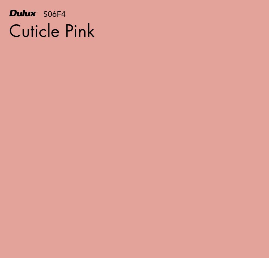 Cuticle Pink by Dulux, a Purples and Pinks for sale on Style Sourcebook