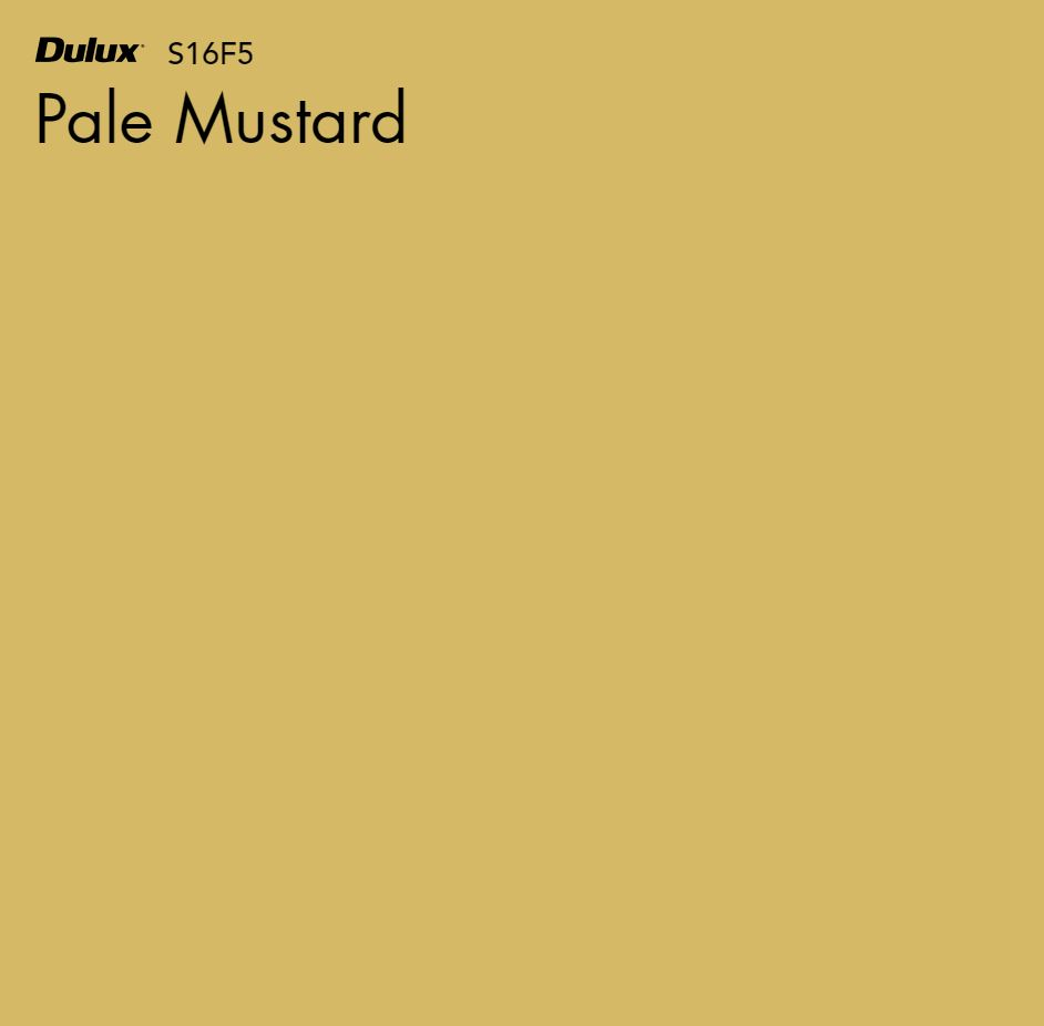 Pale Mustard by Dulux, a Yellows for sale on Style Sourcebook
