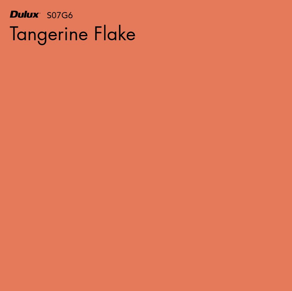 Tangerine Flake by Dulux, a Oranges for sale on Style Sourcebook