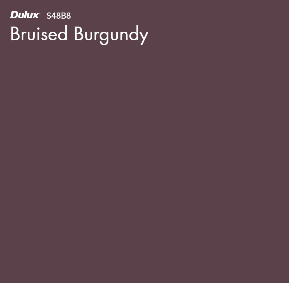 Bruised Burgundy by Dulux, a Purples and Pinks for sale on Style Sourcebook
