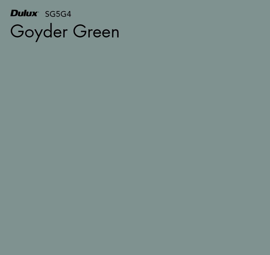 Goyder Green by Dulux, a Greens for sale on Style Sourcebook