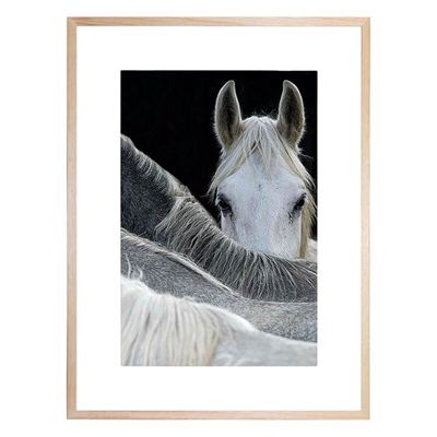 Look Framed Print by United Interiors, a Prints for sale on Style Sourcebook