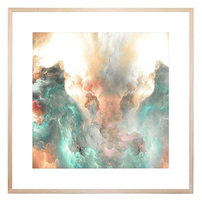 Peerless Horizons 4 Square Framed Print by United Interiors, a Prints for sale on Style Sourcebook