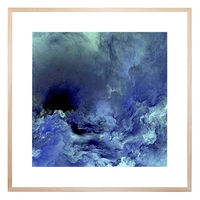 Blue Blue Sky Square Framed Print by United Interiors, a Prints for sale on Style Sourcebook