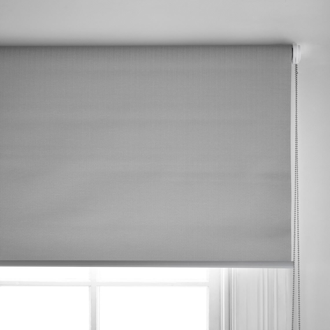 Casa Blockout Roller Blind Size W 90cm x D 0cm x H 210cm in Grey 100% Polyester Freedom by Freedom, a Curtains for sale on Style Sourcebook