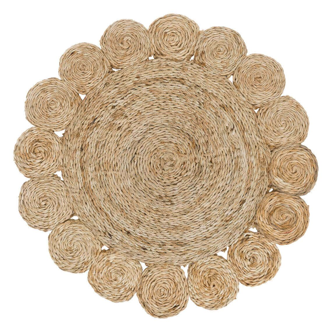 Omani Placemat Size W 36cm x D 36cm x H 1cm in Natural Jute Freedom by Freedom, a Placemats for sale on Style Sourcebook
