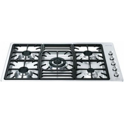 Smeg 90cm Gas Cooktop - PGA95-4 by Smeg, a Cooktops for sale on Style Sourcebook