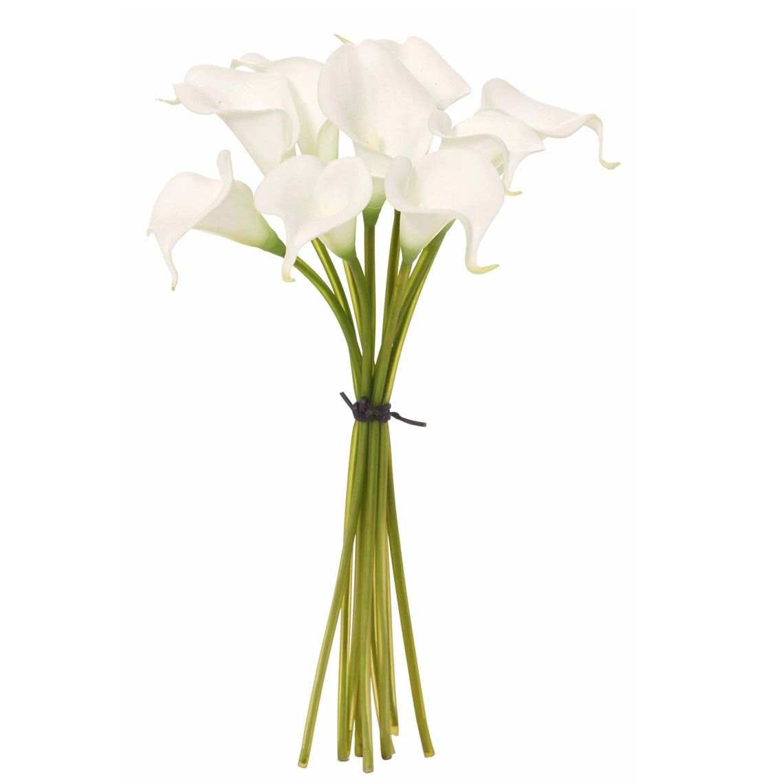 Calla Lilly Bouquet Size W 20cm x D 20cm x H 36cm in White Plastic/Metal/Foam Freedom by Freedom, a Plants for sale on Style Sourcebook