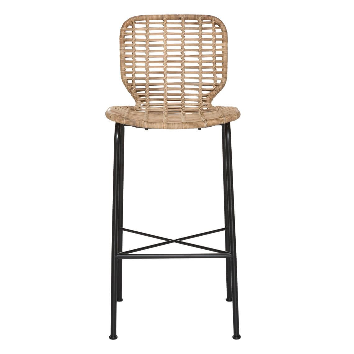 Daintree Bar Stool Size W 0cm x D 0cm x H 0cm in Natural Rattan/Steel Freedom by Freedom, a Dining Tables for sale on Style Sourcebook