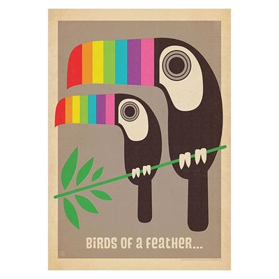 Toucan Print Art by Americanflat, a Kids Prints & Wall Decor for sale on Style Sourcebook