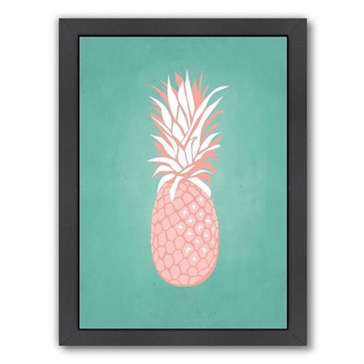 Palm Sprints Pineapple Print Art by Americanflat, a Kids Prints & Wall Decor for sale on Style Sourcebook