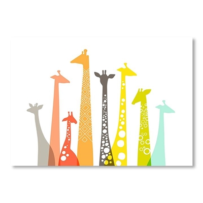 Giraffes Wall Art by Americanflat, a Kids Prints & Wall Decor for sale on Style Sourcebook
